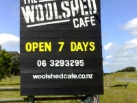 Woolshed Cafe