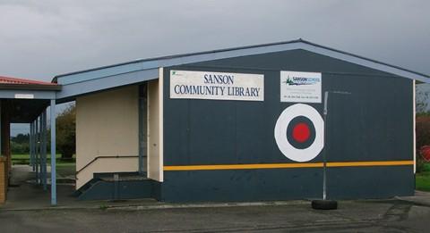 sanson-ommunity-library Logo